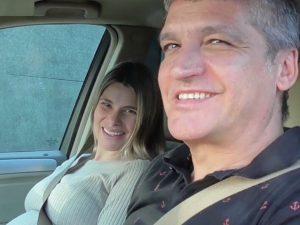 Gustavo González y María Lapiedra, padres de una niña llamada Mía