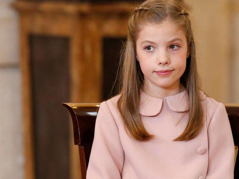 Hoy se estrena la infanta Sofía en público: sabemos todos los detalles