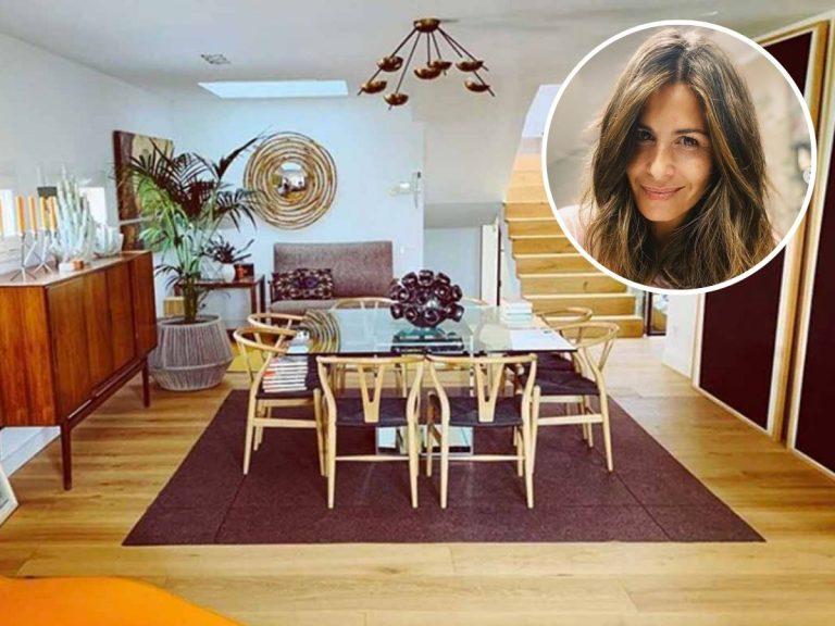 Nuria Roca muestra todos los rincones de su casa