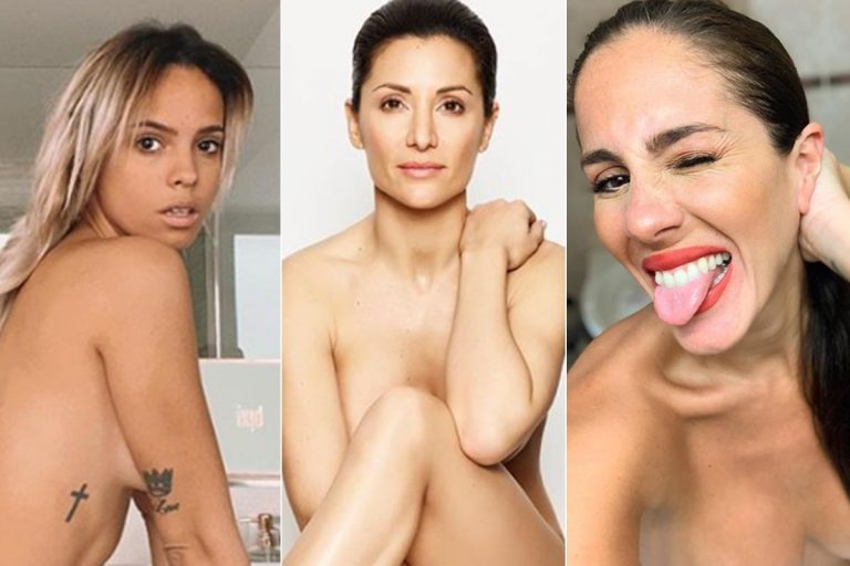 Los famosos se desnudan durante la cuarentena