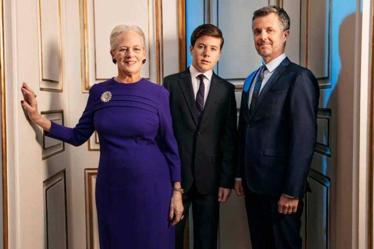 Los retratos más especiales de Margarita de Dinamarca por su 80 cumpleaños