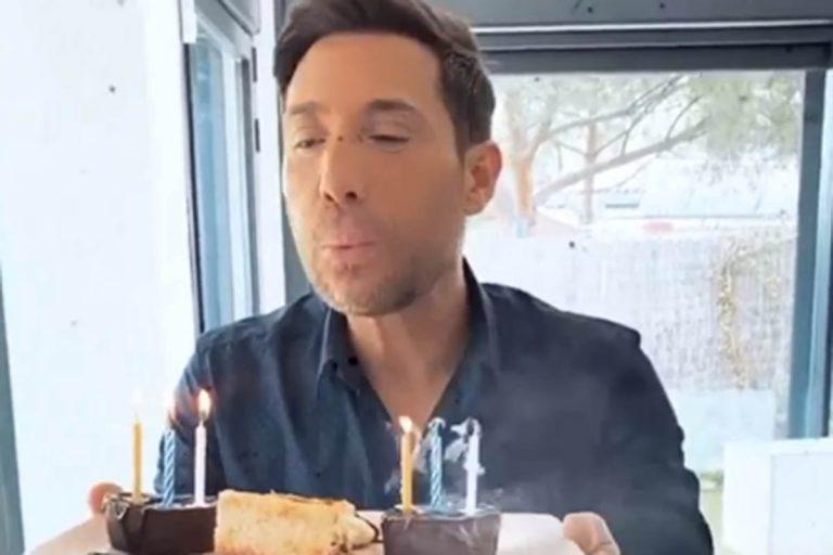 Fotos del día: Antonio David Flores celebra su cumpleaños