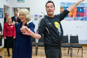 Camilla vive una segunda juventud: ahora está dando clases de baile