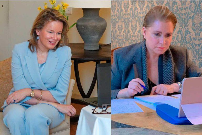 Matilde de Bélgica y María Teresa de Luxemburgo 'copian' a Letizia