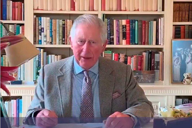 El príncipe Carlos: primeras palabras e imágenes tras curarse de coronavirus