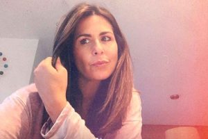 Nuria Roca, ingresada en el hospital