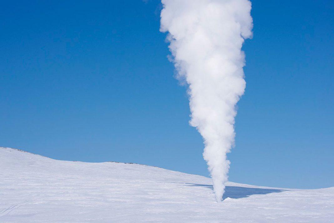 volcan de nieve