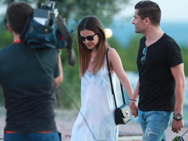 Alfonso Merlos y Alexia Rivas, primer paseo romántico en la fase 1 de Madrid