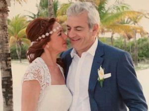 Carlos Sobera recuerda su boda con su mujer, Patricia Santamarina
