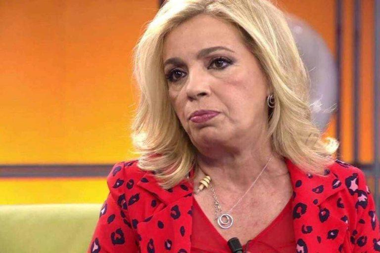 Carmen Borrego cumple 54 años en una polémica de la que no sabe cómo salir