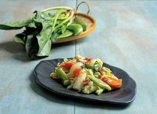 cazuela de verduras
