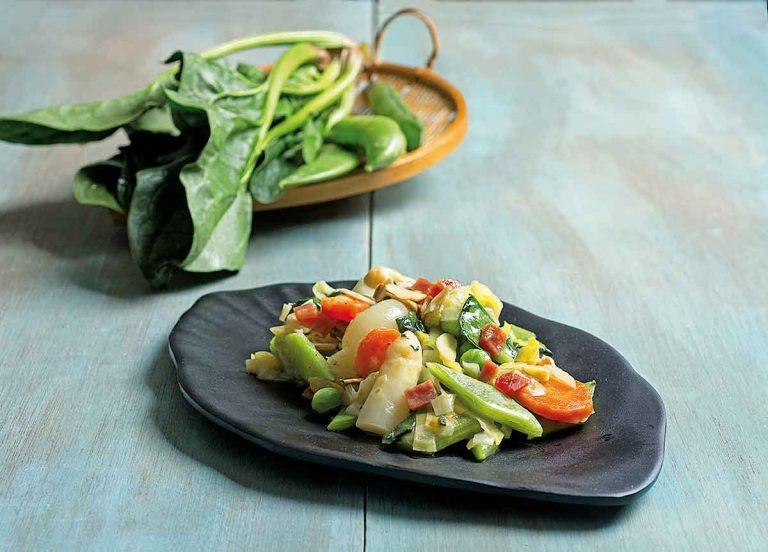Cazuela de verduras de temporada