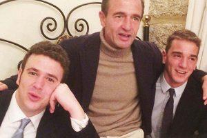 Alessandro Lequio tira de nostalgia y recupera una antigua imagen de Álex y Clemente Lequio