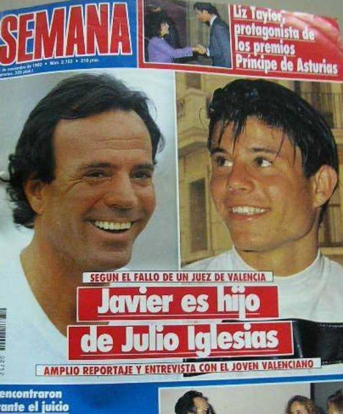 portada Julio Iglesias Javier Santos