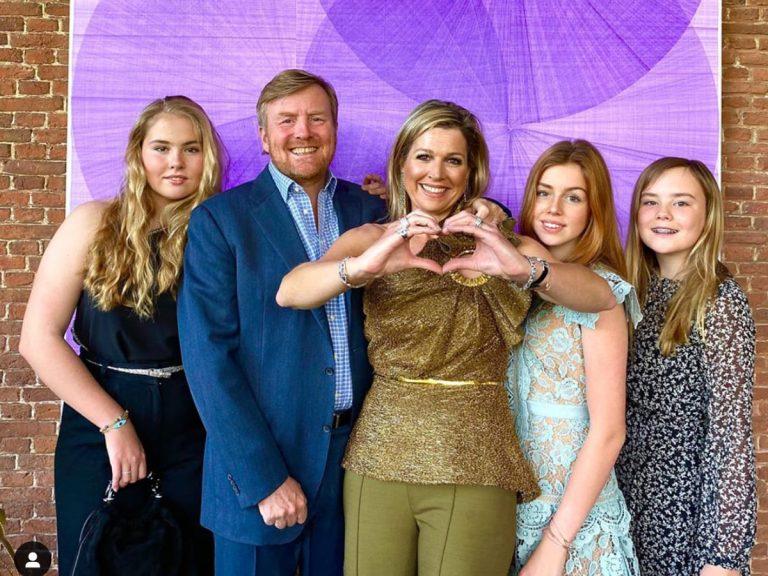 Fotos del día: Guillermo y Máxima de Holanda se cuelan en Eurovisión 2020 y mandan un esperanzador mensaje