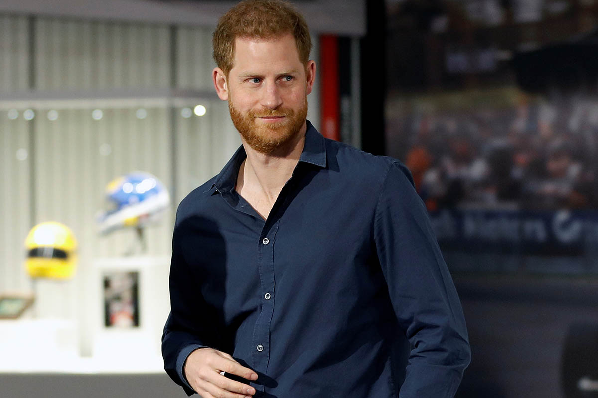 Prince Harry,Duke of Sussex during » The Silverstone Experience » inaguration in Silverstone, Britain March 6, 2020.