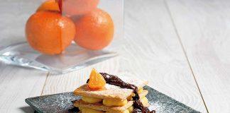 hoja de mandarina