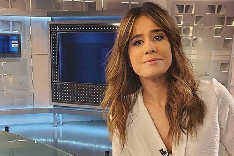Fotos del día: Isabel Jiménez muestra las medidas de seguridad de Telecinco para evitar el contagio