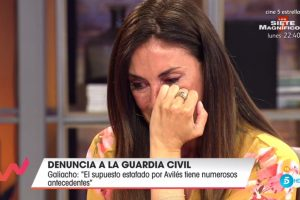 Isabel Rábago se derrumba al recordar las amenazas que ha recibido: «No voy a dar un paso atrás»