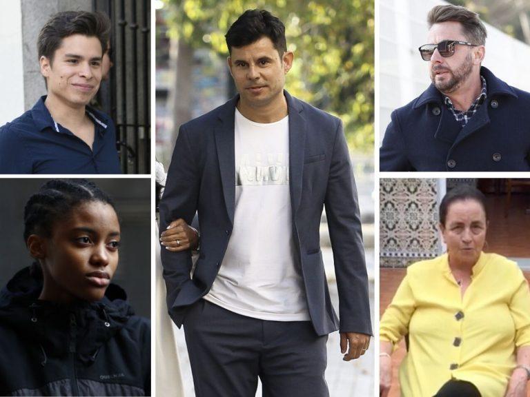 Los hijos no reconocidos de famosos apoyan a Javier Santos
