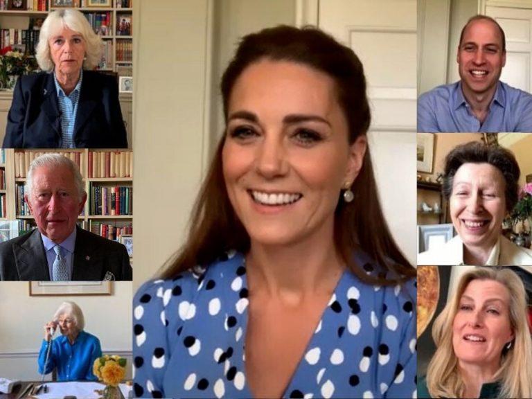 El mensaje de Kate Middleton y la Familia Real británica a los enfermeros