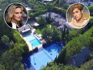 Justin Bieber y su mujer, Hailey Balwin, se compran la mansión de Madonna en Los Ángeles