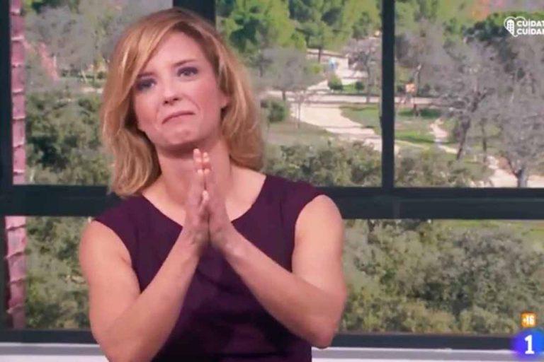 María Casado se despide por adelantado y entre lágrimas de 'La Mañana': «Hasta siempre»
