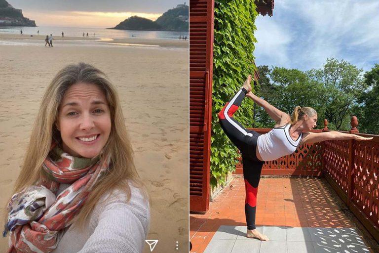 Genoveva Casanova: vida 'yogui' en el palacio de verano de la duquesa de Alba