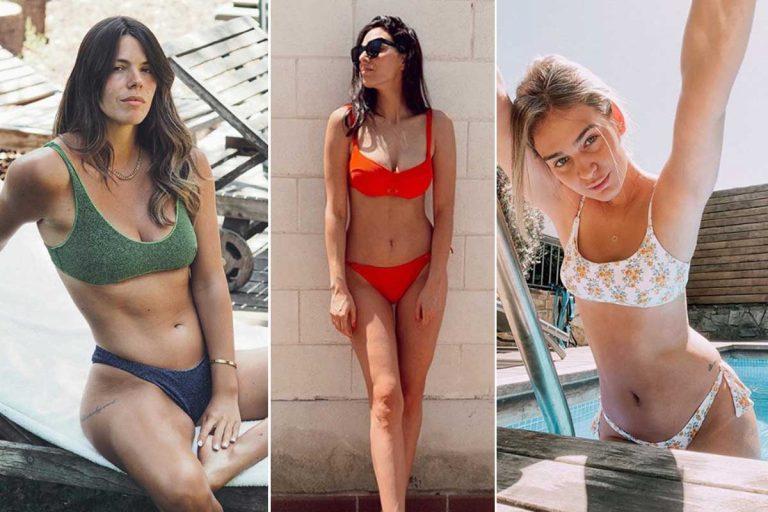 Las famosas inauguran la temporada de bikinis
