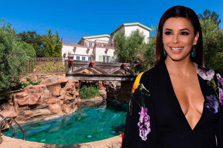 Eva Longoria vende la finca que le compró a Tom Cruise perdiendo tres millones de euros