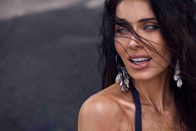 Pilar Rubio sorprende con un vestido transparente el 'El Hormiguero'