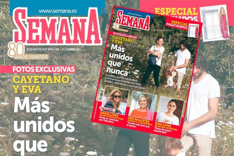 En SEMANA, Cayetano Rivera y Eva González, más unidos que nunca