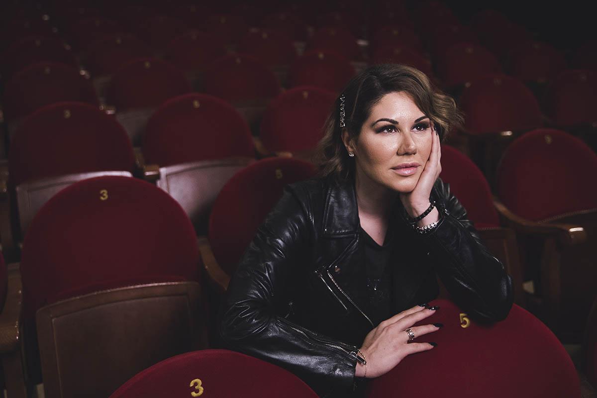 Singer Tamara poses for portrait in Madrid on Friday, 22 November 2019.
