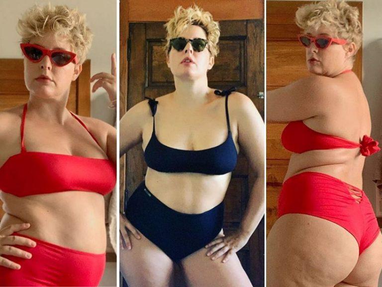 Todas las veces que Tania Llasera ha presumido de sus kilos de más