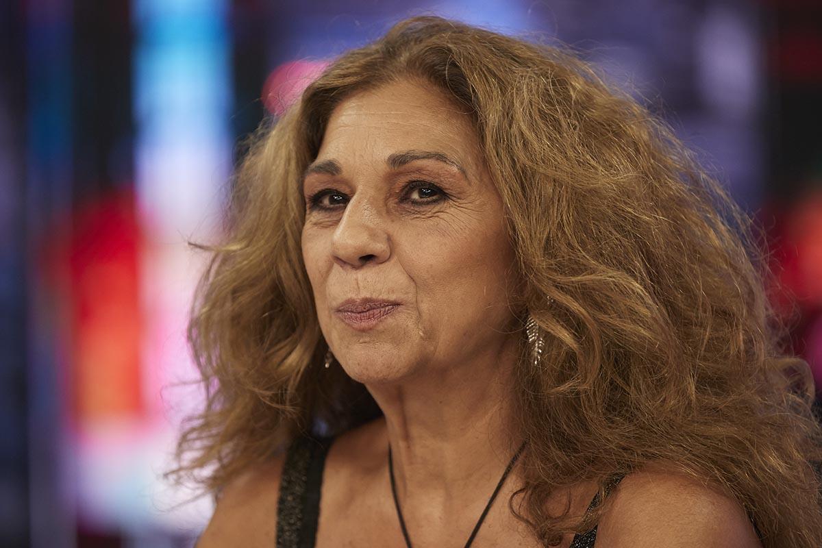 Singer Lolita Flores on tv show El Hormiguero in Madrid on Tuesday, 24 September 2019.
