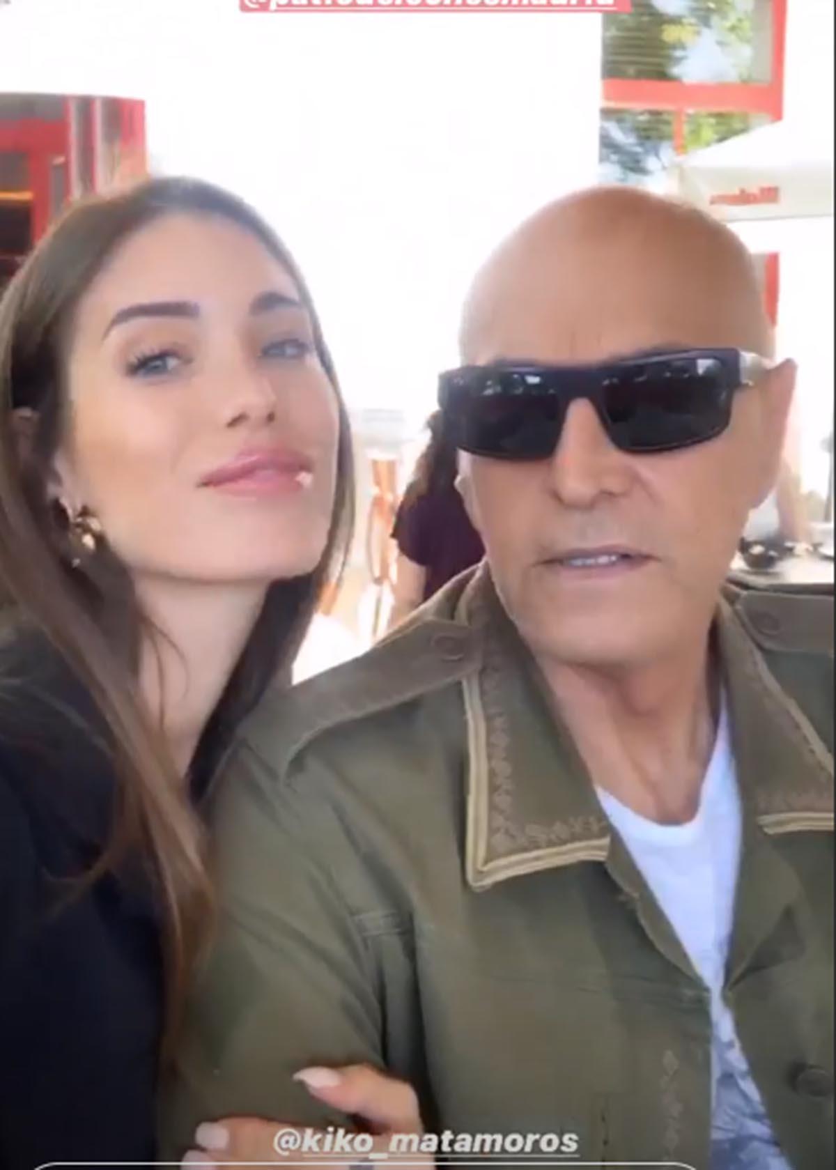 Marta López y Kiko Matamoros