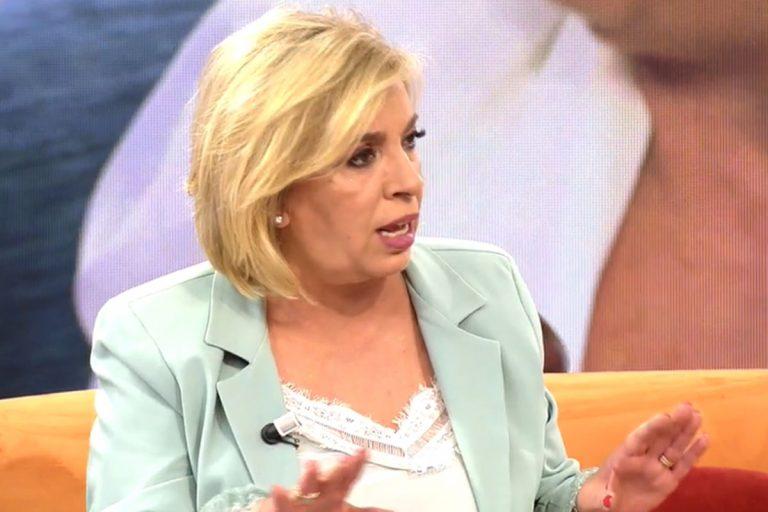 Carmen Borrego se derrumba por las demoledoras críticas de su última entrevista