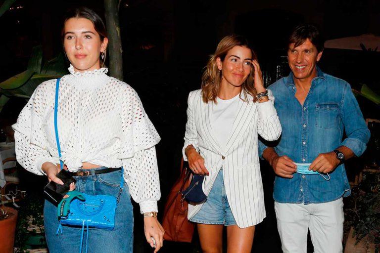 Alba Díaz recibe la visita de su padre, 'El Cordobés', en Madrid tras pasar juntos el confinamiento