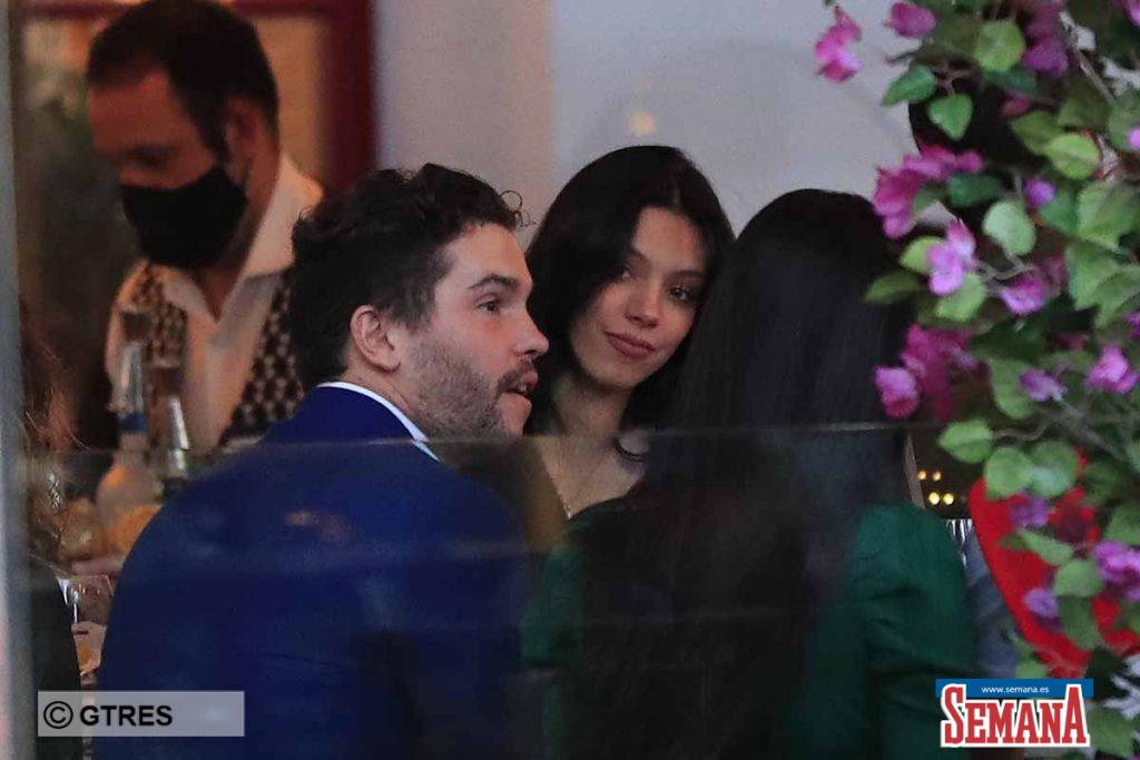 Alejandra Rubio y su novio Tassio de la Vega