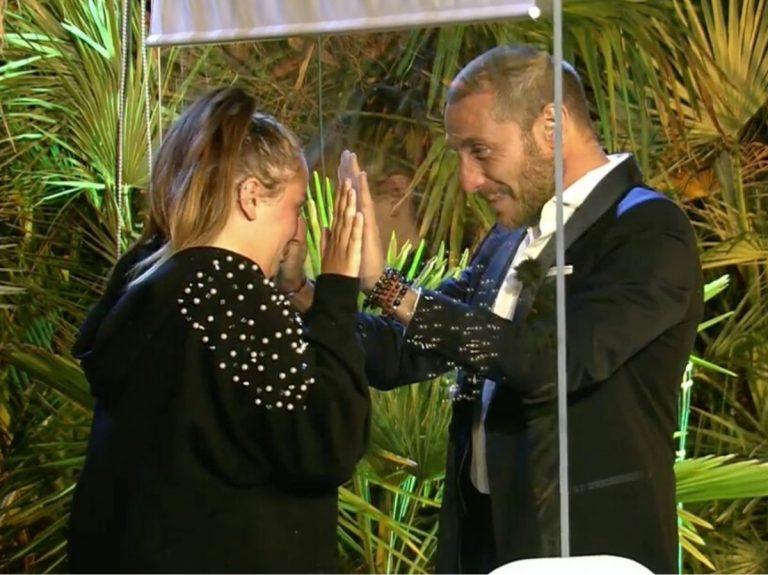 El emotivo reencuentro de Antonio David Flores y Rocío Flores en la final de 'Supervivientes 2020'