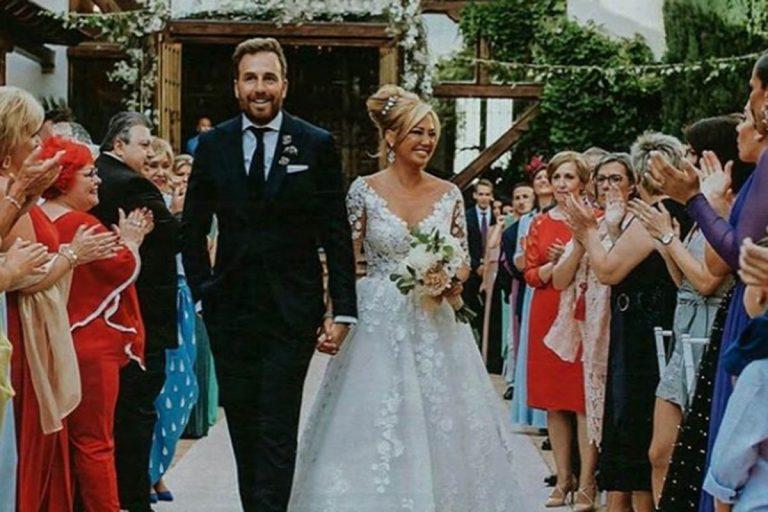 Las mejores fotos de la boda de Belén Esteban y Miguel Marcos