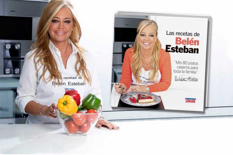 Belén Esteban publica su primer libro de recetas con SEMANA