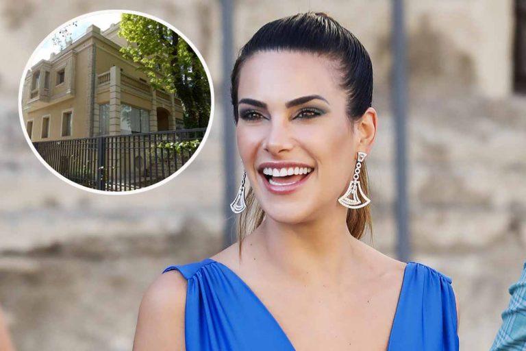 Así es el impresionante palacete en el que trabaja Carla Barber por más de 8.000 euros al mes