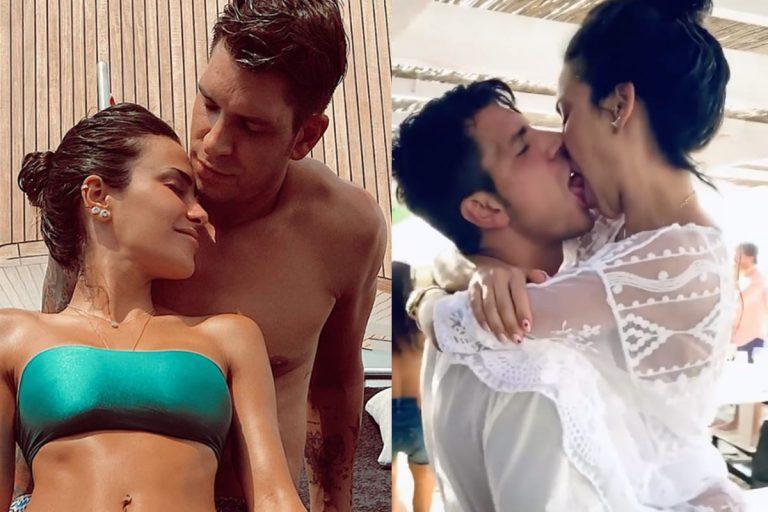 Las románticas vacaciones de Diego Matamoros y Carla Barber: Pasión, bailes y muchos besos