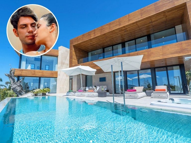 La impresionante casa en la que Diego Matamoros y Carla Barber pasan sus vacaciones en Ibiza