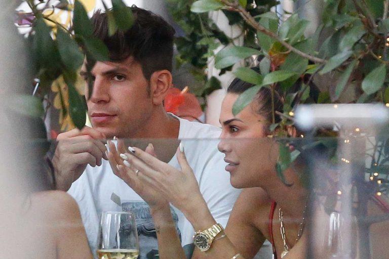 Diego Matamoros y Carla Barber, juntos y ajenos a los rumores de ruptura
