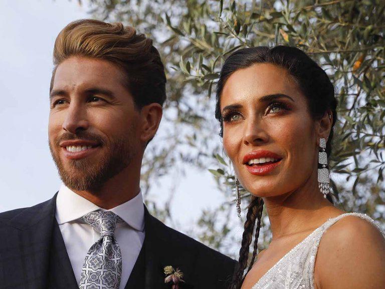 Pilar Rubio y Sergio Ramos se intercambian mensajes en su primer aniversario de boda