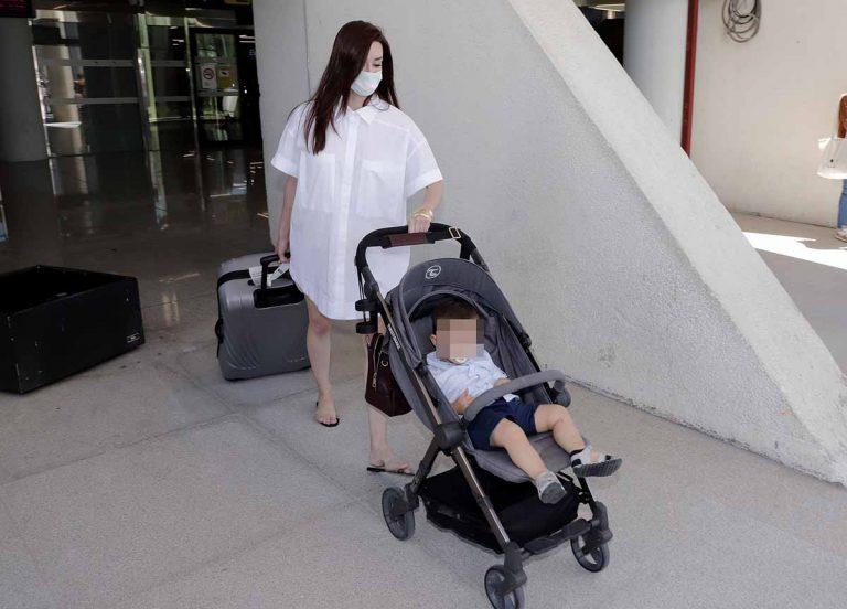 El plan de Adara Molinero a su regreso a Palma de Mallorca con su hijo