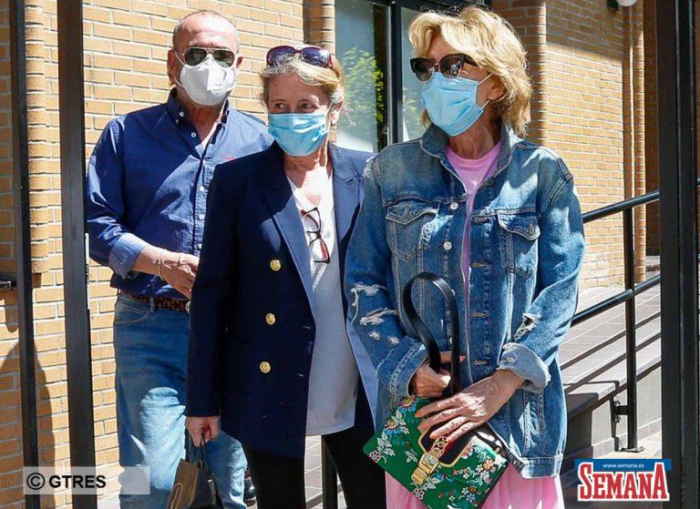 Mila Ximénez, comida en familia tras su visita al hospital