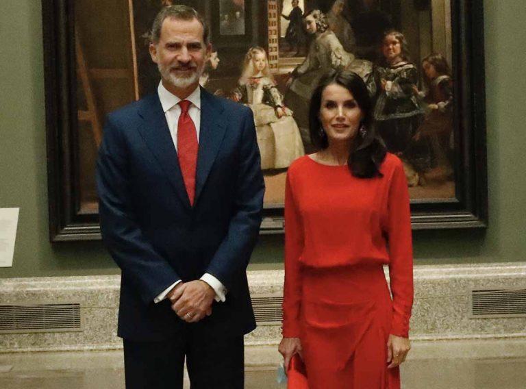 Los Reyes Felipe y Letizia apoyan el turismo español en el Museo del Prado